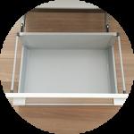 i-smartのキッチンカウンターの引き出しを無印良品のファイルボックスですっきり収納!!