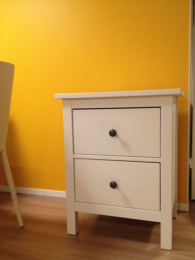 IKEAの金魚用チェスト