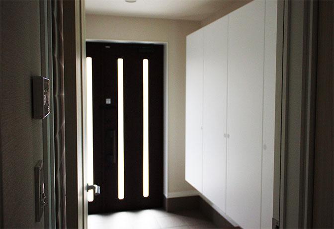 玄関ドアスリット内側のコピー