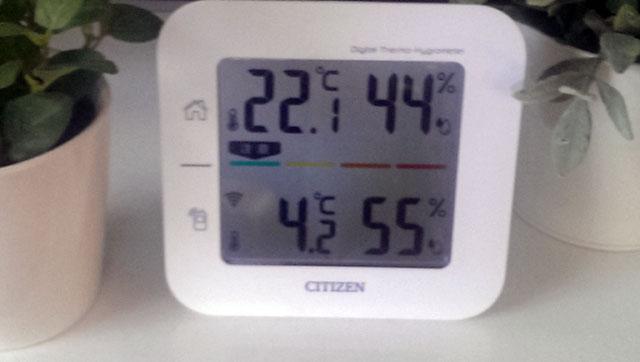2014年11月の気温