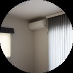 【WEB内覧会24】リビング横の洋室〜将来の寝室。今は書斎=「あの部屋」。