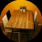 【WEB内覧会04】ダイニングのテーブルと椅子〜アンティーク調×モダンミックス(前編)