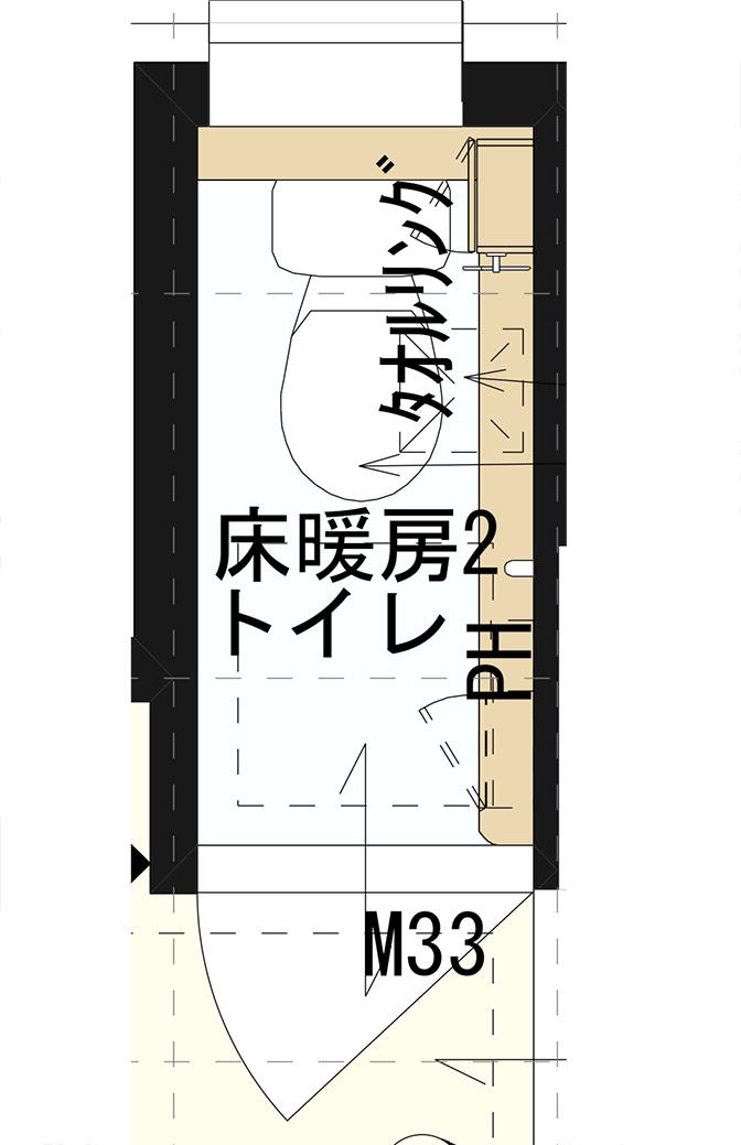 二階トイレ図面