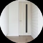【WEB内覧会06】Black&Whiteな家の玄関(前編)〜採光を重視した玄関