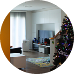 【WEB内覧会01】一番好きなキッチンからの眺め〜入居一年目の今日からスタート