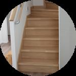 【WEB内覧会18】シンプルなボックス階段(前編)〜仕様とカラー