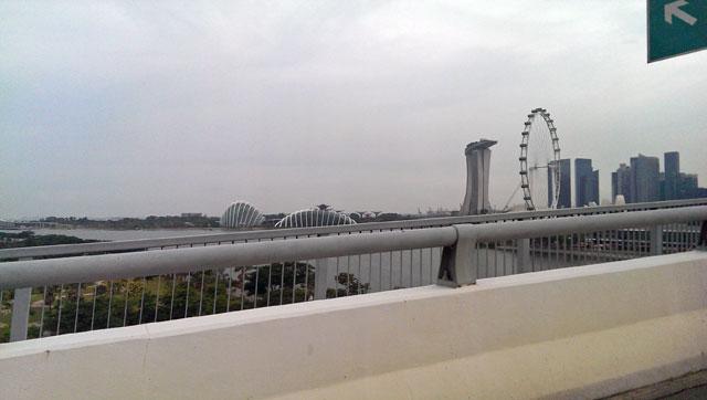 シンガポールのマーライオンパーク