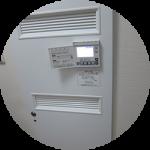 工場見学レポート(終) 床暖房の制御機器
