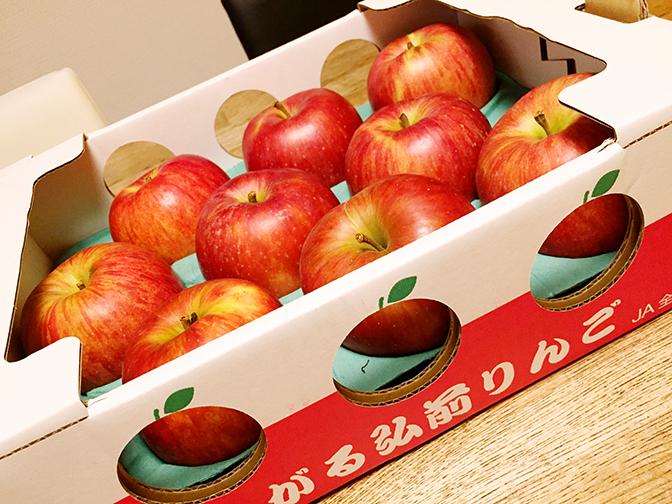 コストコりんご1
