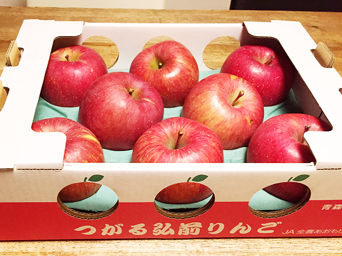 コストコりんご4
