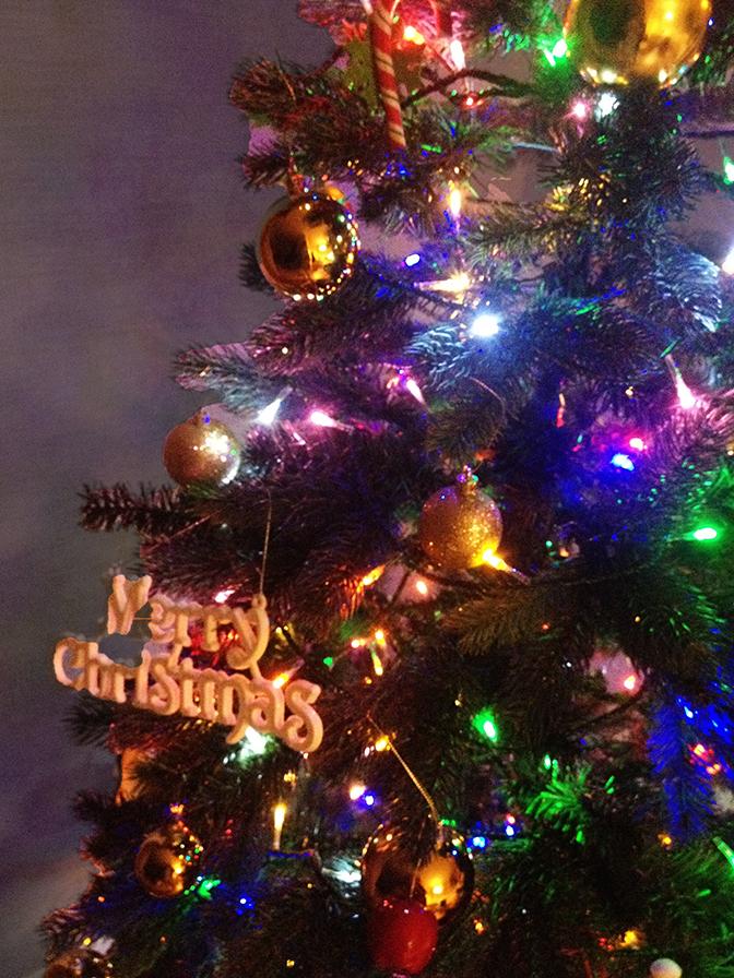 クリスマスツリー201411