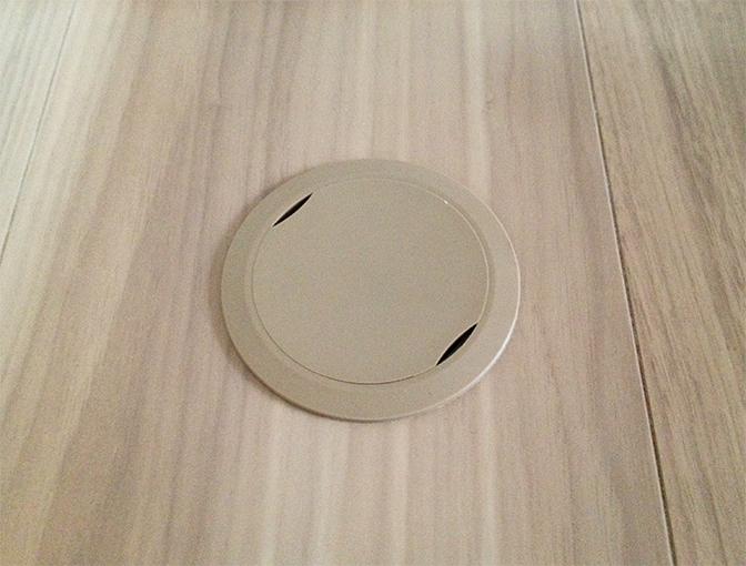 玄関床暖房センサー