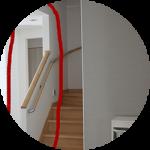 【WEB内覧会16】家族と共に変化する階段横スペース(中編)〜間取りで迷走。LDKをつなぐための空間。