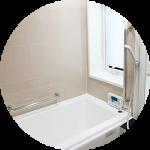 【WEB内覧会30】ライトカラーの浴室(前編)〜クリーンなのが一番!!選んだカラーリングと照明。バスグッズ。