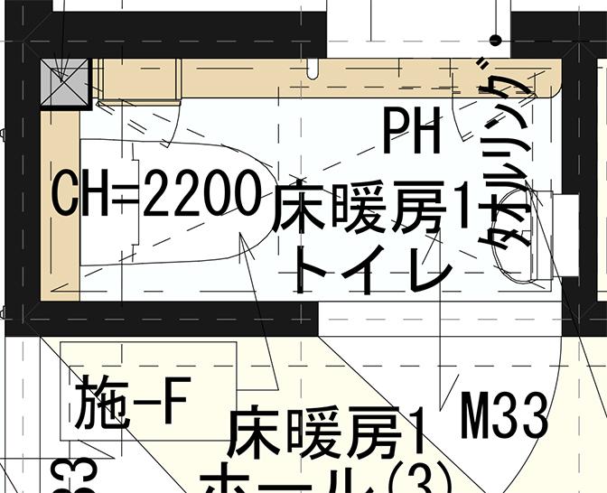 一階トイレ図面1