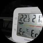 CITIZENコードレス外気温計のその後