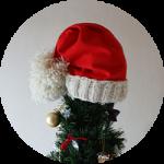 クリスマスキャップ
