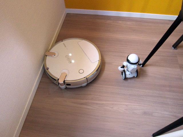 ロボット対ロボット